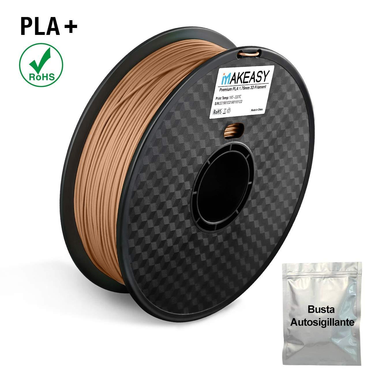Filamento de 1,75 mm PLA+ MAKEASY para impresora 3D 1 kg Spool 3D ...