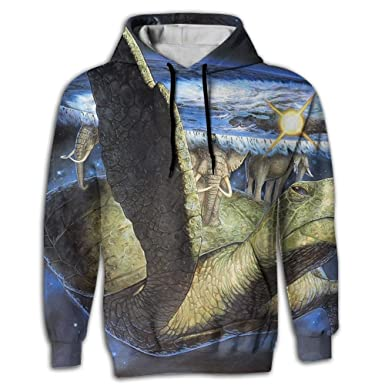 4b6f11283604 Amazon.com  YUANSHAN Men s Sweatshirt 3D Print Hoodies with Pockets ...