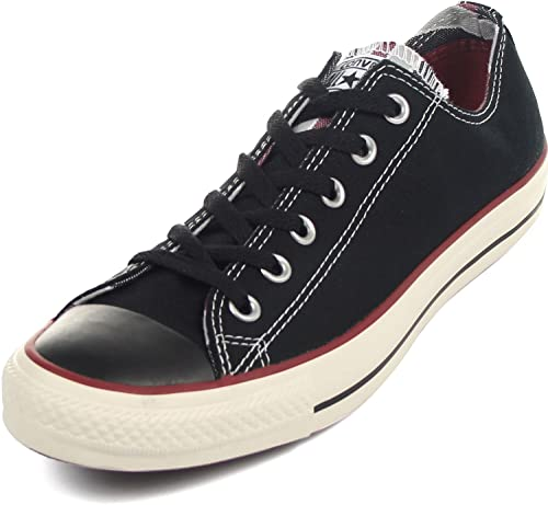 255de4520c0 Converse Unisex Chuck Taylor All Star Ox Sneakers Black 10 Men Women 12   Amazon.ca  Shoes   Handbags