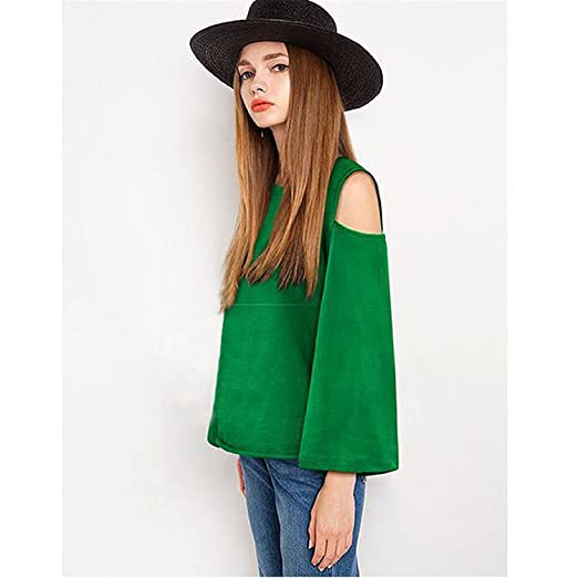 Sexy Off Shoulder Women Blouse Plus Size Womens Tops and Blouses at Amazon Womens Clothing store: