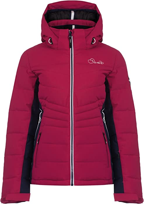 d0ce5172cb Dare 2b Womens Ladies Illation Waterproof Ski Jacket (14 US) (Berry Pink)   Amazon.ca  Clothing   Accessories