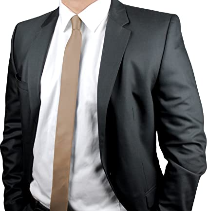 ADAMANT® Corbatas de Hombre estrechas, diferentes colores ...