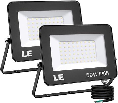 LED Eco Outdoor Lighting Floodlights House Yard Garden Floodlight 50w 230v Cold White