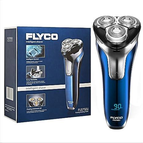 Afeitadora electrica barba para hombre rotativa FS375EU FLYCO ...