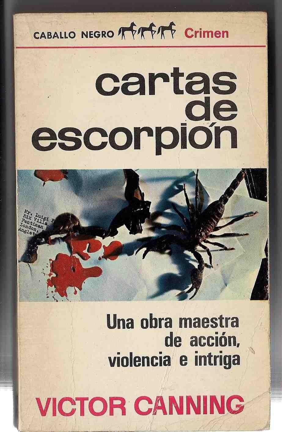 CARTAS DE ESCORPION (X: Amazon.es: VICTOR CANNING: Libros