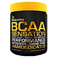 Dedicated Nutrition BCAA Sensation - 345g - 30 Servings (Exotic Fruit)
