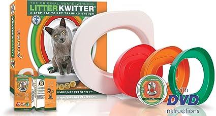 Doogie Stuff Ltd Litter kwitter LK1 3 de paso Baños de gatos Sistema de entrenamiento