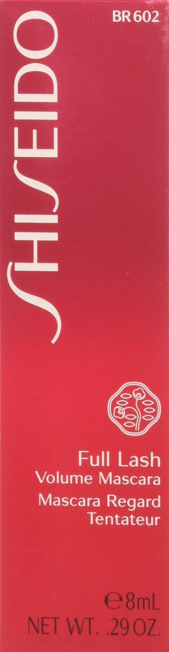 Shiseido Full Lash Volume Women's Mascara, Brown, 0.29 Ounce