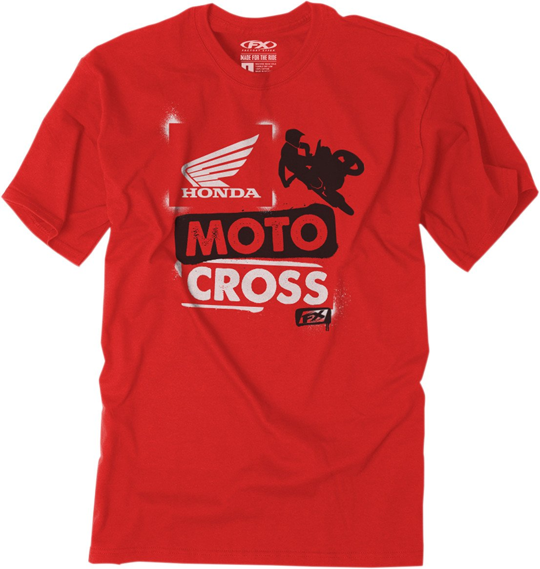 Factory Effex Unisex-Child Honda Paint Youth T-Shirt (Red, X-Large), 1 Pack
