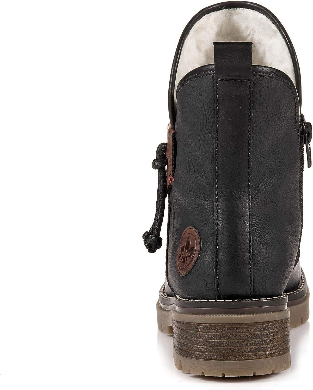 Einkaufen Exklusiv Bulk Designs Rieker Damen 707k8 Stiefeletten Schwarz Schwarz Schwarz Brandy 00 8R77P 9B7eT RCC0N