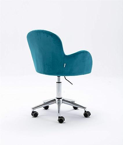 LUKDOF Velvet Desk Chair