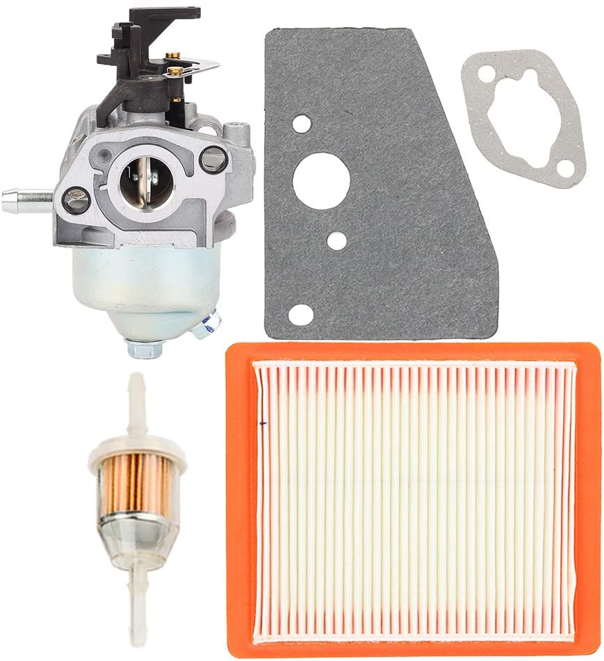 Buckbock 14 853 68-S 14 853 55-S Carburetor Carb with 14 083 15-S Air Fuel Filter for Kohler XT650 XT675 Engine Husqvarna Lawn Boy Toro MTD Lawn Mower