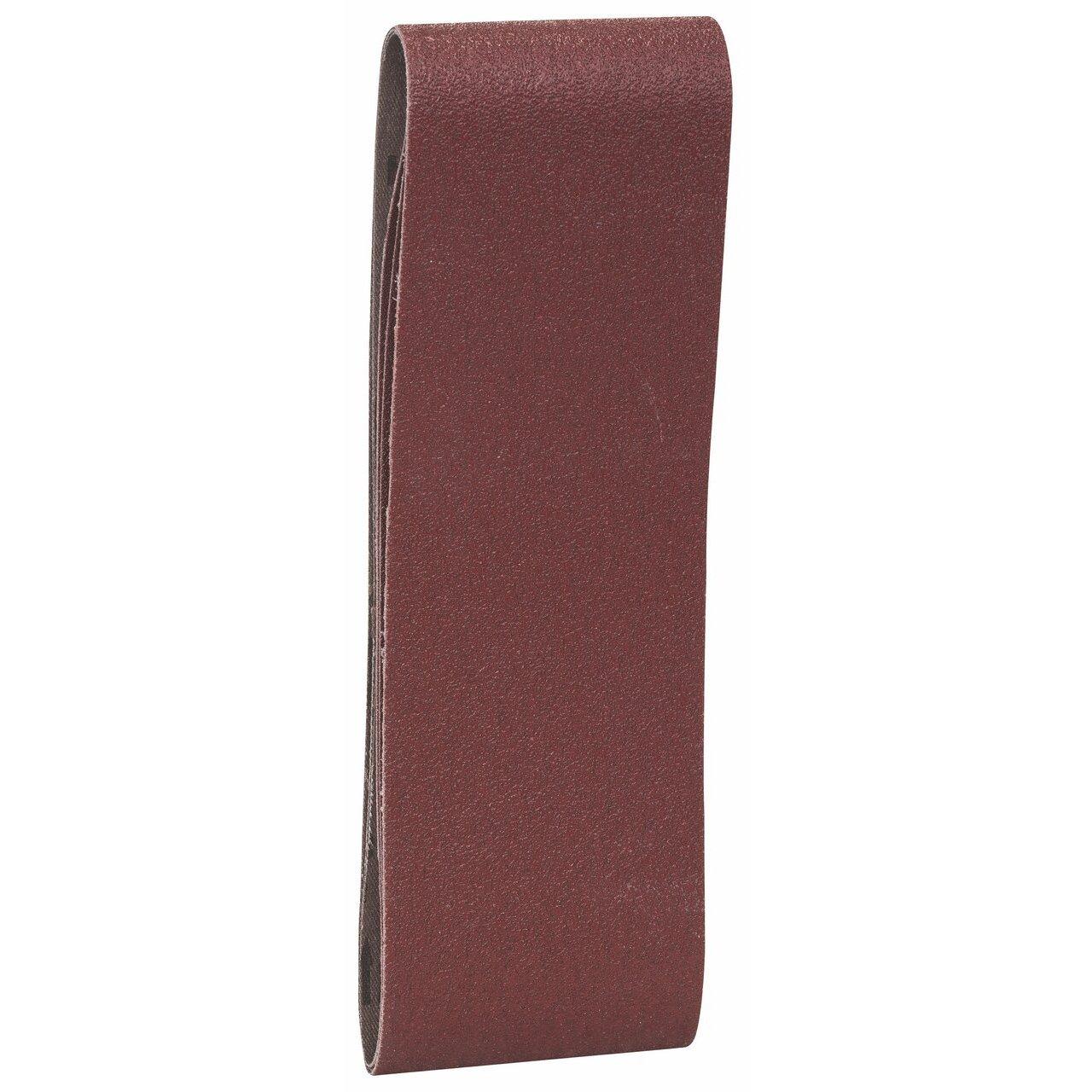 Bande Abrasive X440 pour Ponceuses 508mm x 75mm 60//80//100 Grain Lot de 3
