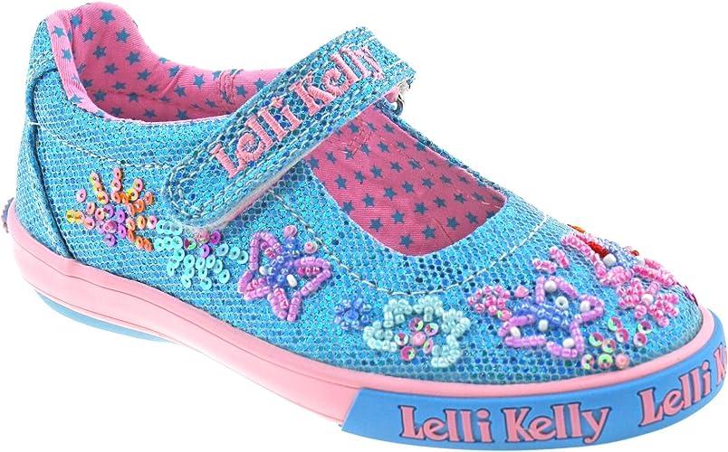 Lelli Kelly UNICORN  White Fantasy Canvas Dolly LK9050 Sizes 25-35 FREE GIFT