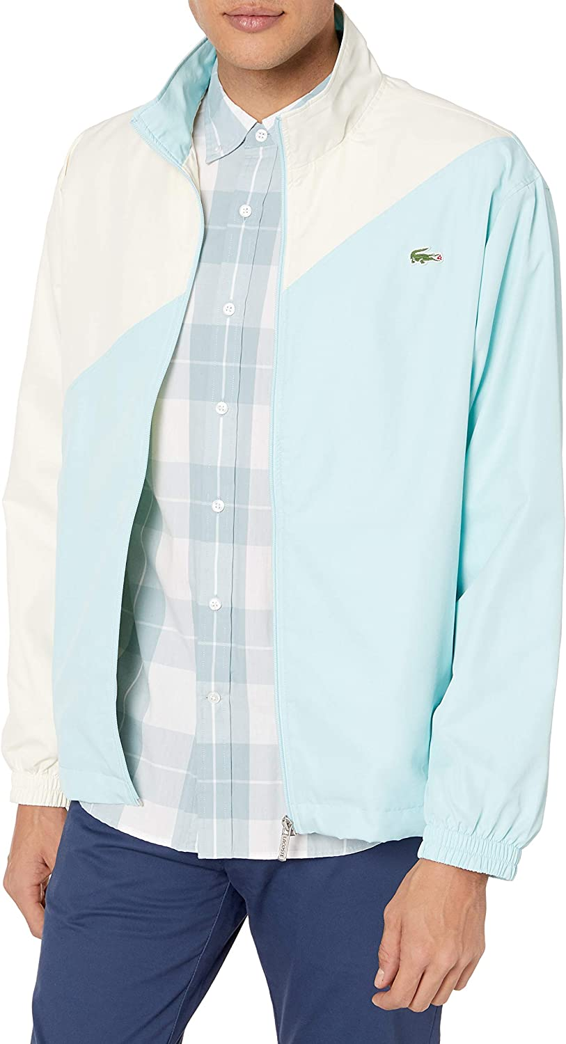 Lacoste Mens Tyler The Creator Colorblock Track Jacket