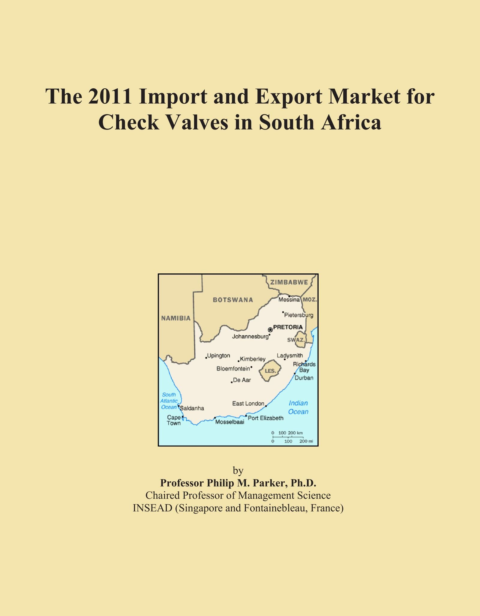 Download The 2011 Import and Export Market for Check Valves in South Africa pdf epub