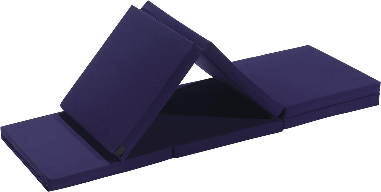 Badenia Bettcomfort 03610114502 Madrid Fauteuil dappoint avec housse rouge 6 pi/èces Bleu fonc/é