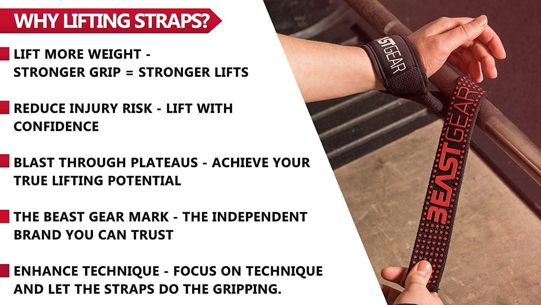 B76D universale per il Sollevamento Pesi Cinghia anti-Scorrimento Polso Sostegno Cintura Fitness