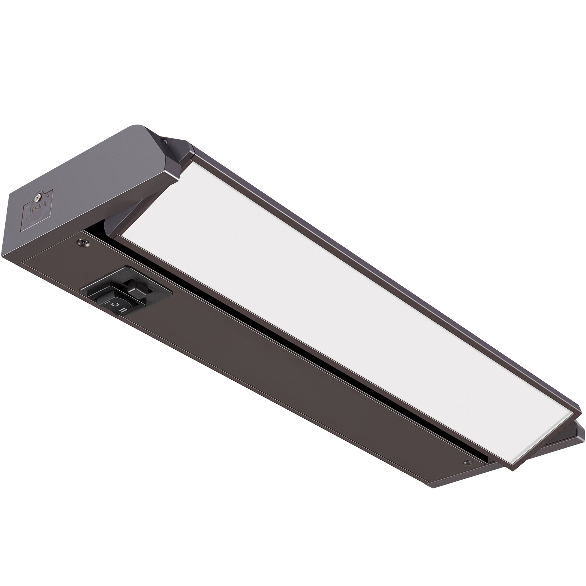GetInLight 3 Color Levels Swivel LED Under Cabinet Light, Dimmable, Hardwired/Plug-in, Warm White(2700K), Soft White(3000K), Bright White(4000K), Bronze Finished, 12-inch, IN-0202-1-BZ