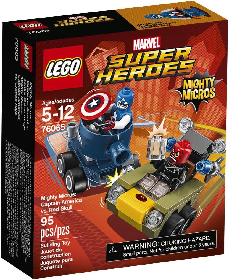 LEGO Marvel Super Heroes Mighty Micros: Captain America vs Red Skull (76065)