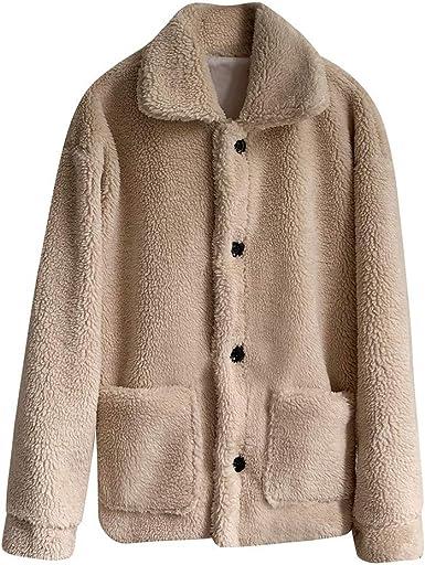 Womens Corduroy Coat Striped Velvet Lined Long Overcoat Jacket Loose Oversize