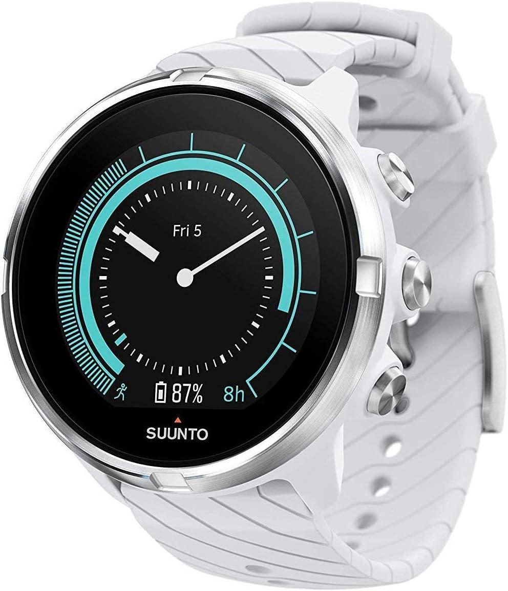 Suunto 9 Baro Reloj deportivo GPS con batería de larga duración y medición de frecuencia cardiaca en la muñeca