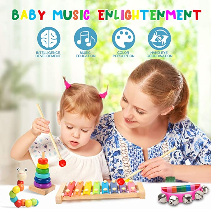Musical Instruments for kids Pretend Play Toys #Ty94