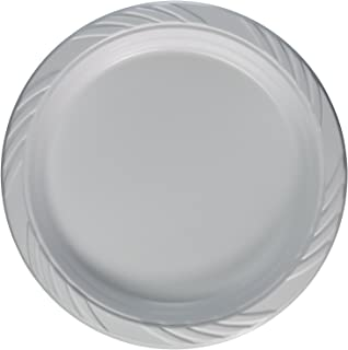 """10/"""" Extra Strong Disposable Plastic Plates Wedding Party BBQ pack of 100"""