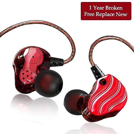 3.5MM Dual Dynamic Driver Heavy Deep Bass in Ear Auricolare con microfono  Yianerm HiFi 4. Scorri sopra l immagine per ingrandirla e40279276bb1