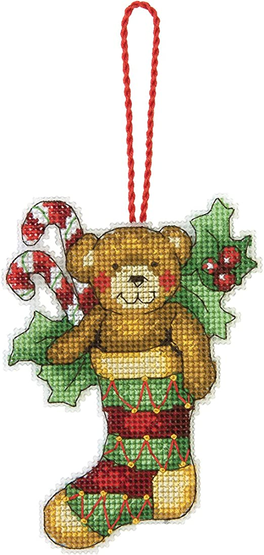 Dimensions 14 Count Filled With Joy Ornament Counted Cross Stitch Kit 4 By
