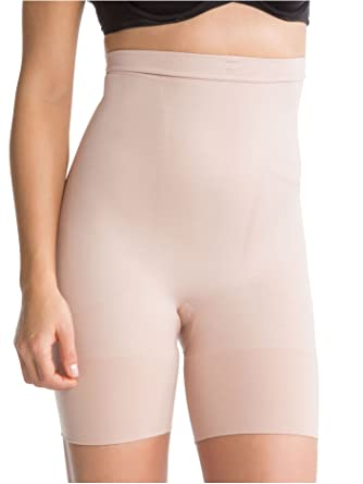 1232cec733d SPANX Women s Slim Cognito High Waisted Mid Thigh Shaper at Amazon Women s  Clothing store