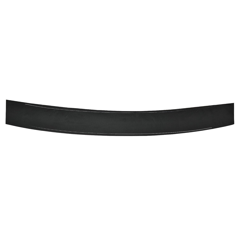 129x17,5cm - autoadh/ésif fibre de carbone - in.tec Fa/çon Film de protection du seuil de chargement film de protecteur de peinture