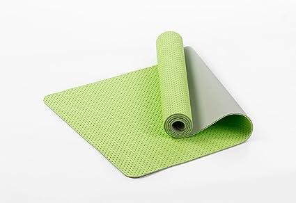 qubabobo ecológico TPE 6 mm Panal esterilla de yoga alta ...