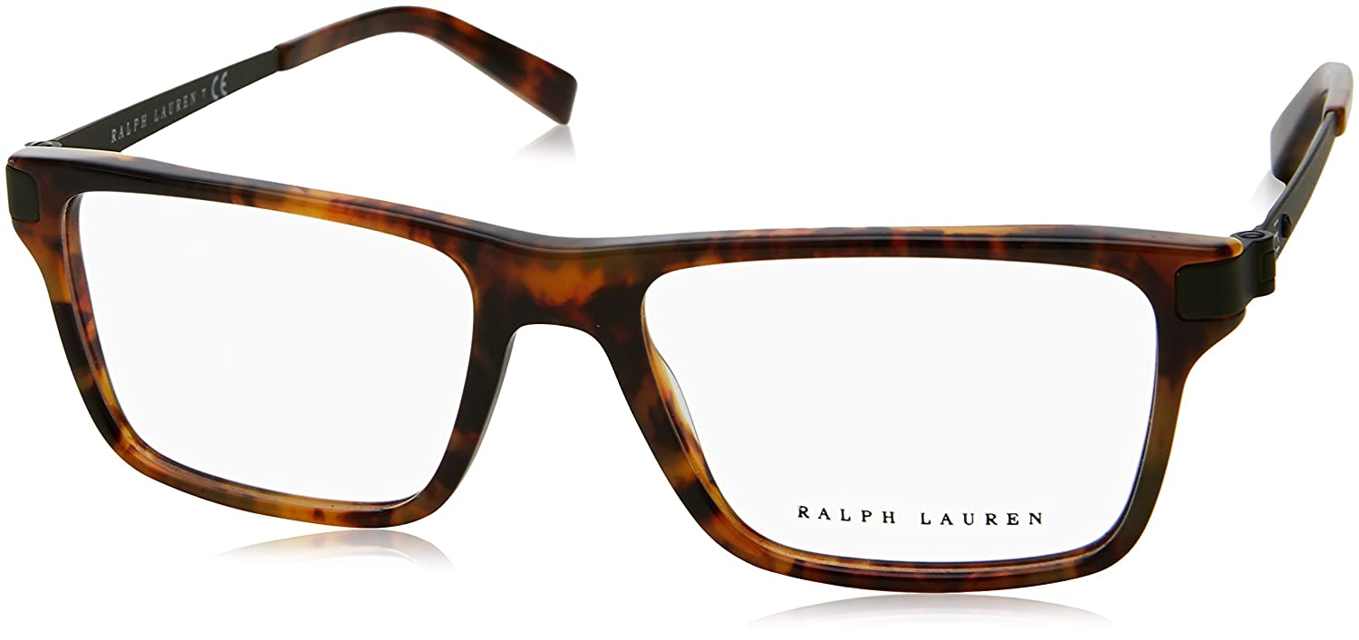 a416b9ccbdf1 Ralph Lauren Men's RL6162 Eyeglasses 55mm at Amazon Men's Clothing store: