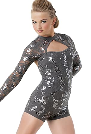 482046d13 Amazon.com  Balera Biketard Girls One Piece For Dance Womens Stretch ...