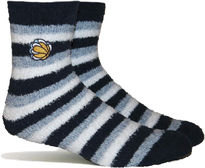 PKWY NBA Fuzzy Steps Crew Socks