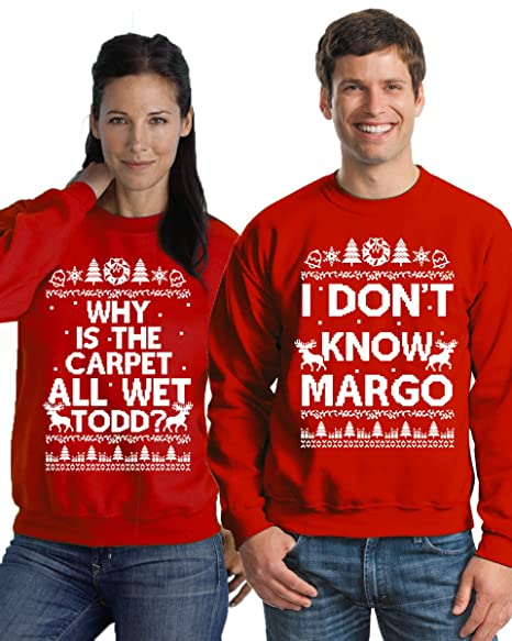 Couples Christmas Sweaters.Pekatees Margo Todd Sweatshirts Todd Margo Sweaters Couples Christmas Sweater