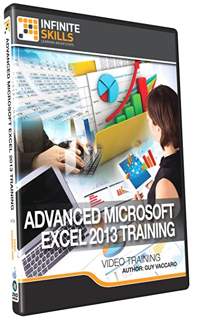 Amazon.com: Advanced Microsoft Excel 2013 Training - Training DVD