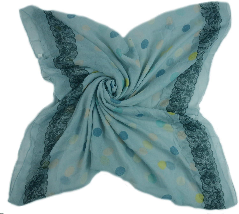 Print Loop Schal warme und weiche Schlauchschal Farbverlauf Tuch Damen Glamexx24 XXL Punkte