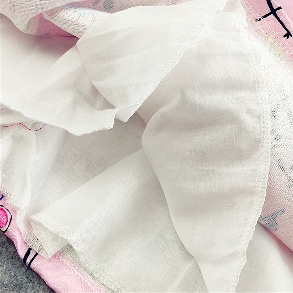 Kseniya Kids Big Little Girls Autumn Winter Dresses Jacquard Graffiti Girl Princess Dress