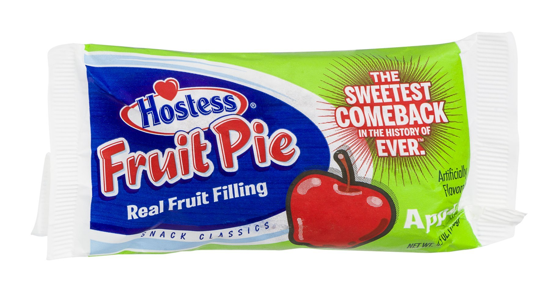 Hostess Fruit Pie Apple 4.5 OZ (Pack of 36) by Hostess