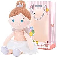 Gloveleya Baby Doll Plush Soft Girl Gifts Angel Dolls Dream Girls Pink 15 Inches