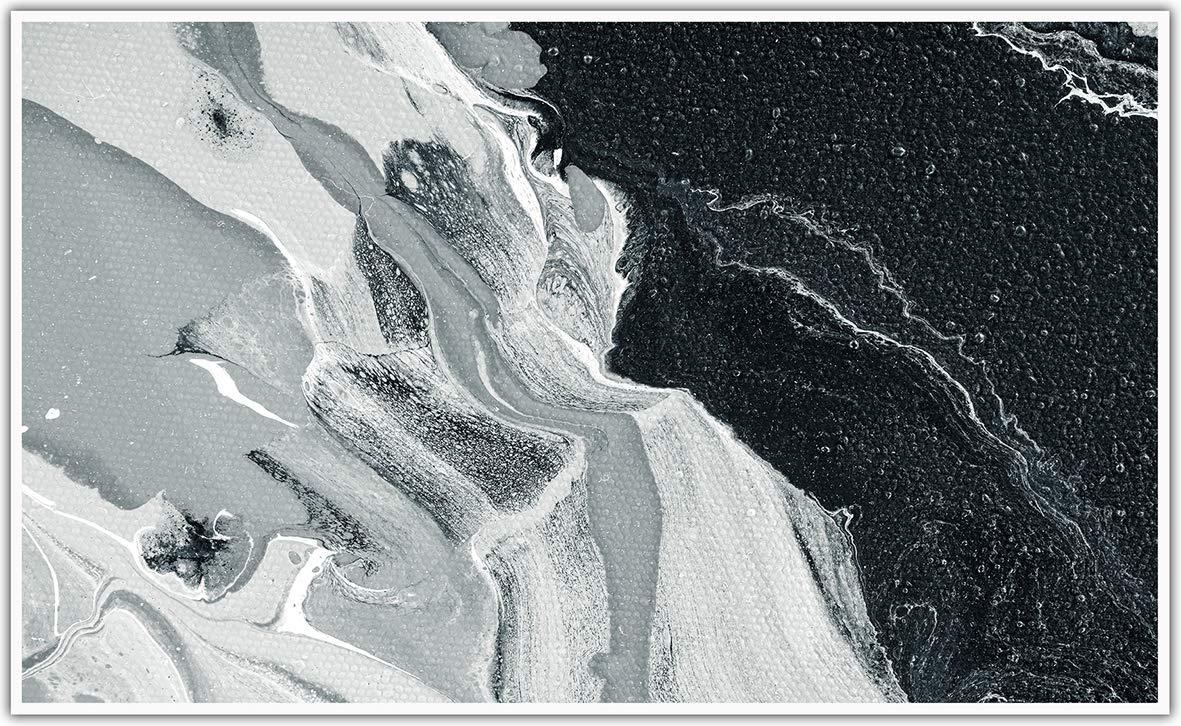 brevettato qualit/à HD cornice bianca 1.000 Watt K/önighaus Fern con immagini T/ÜV//GS 200+ Riscaldamento a infrarossi Black Edition 1000.00W