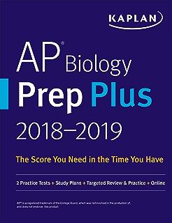 AP Biology Prep Plus 2018 2019 2 Practice Tests Study Plans Targeted