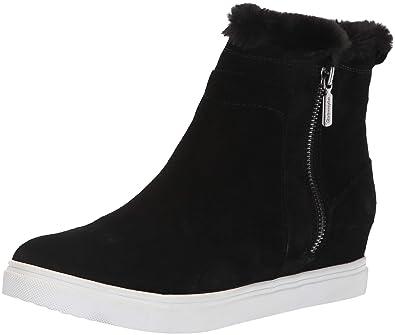 b376c1de9a9d Blondo Women s Glade Sneaker Black Suede 5.5 ...