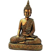 #N/A Meditating Thai Buddha Statues Ornament Figurine, Garden Buddha Statue Sculpture Indoor/Outdoor Decor for Home…