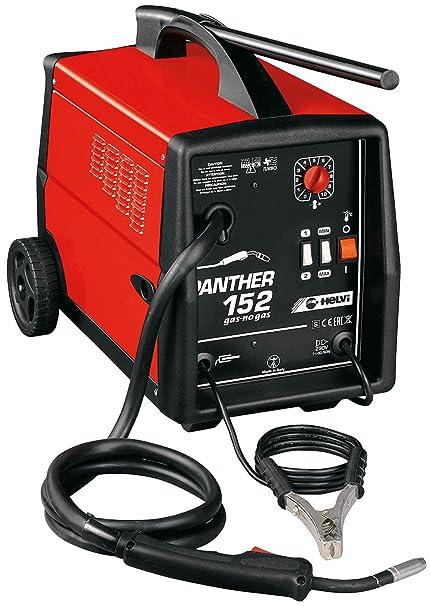 Helvi 99405021 Soldadura de hilo Panther 152 no gas 230 V, 230 V, Rojo