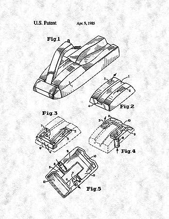 Amazon Com Super Ventilator Jet Ski Engine Hood Patent Print
