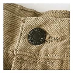 501 Original Fit Twill Men's Jeans 00501: 1212 Timberwolf Twill Khaki