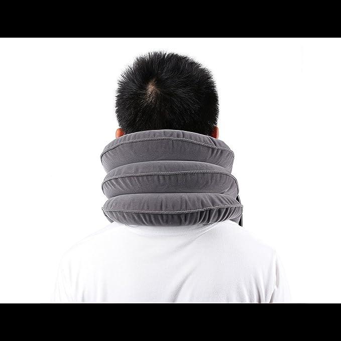 TAKIT Collarín Tracción Cervical Inflable Del Cuello - Para El ...